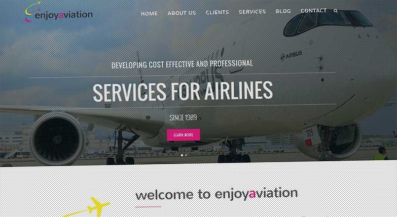 Enjoy Aviation | We have a new website